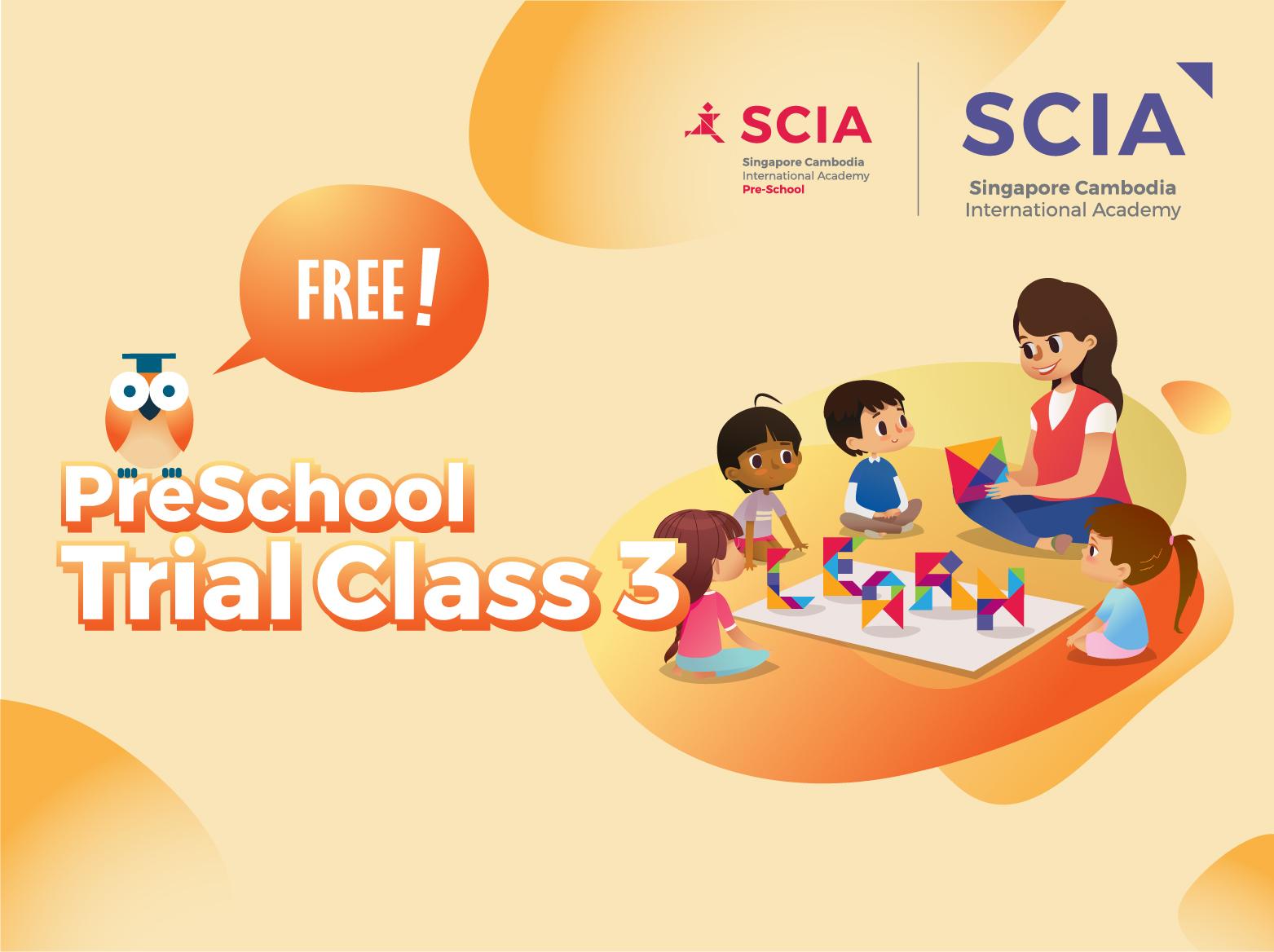 Pre School Trial Class SCIA