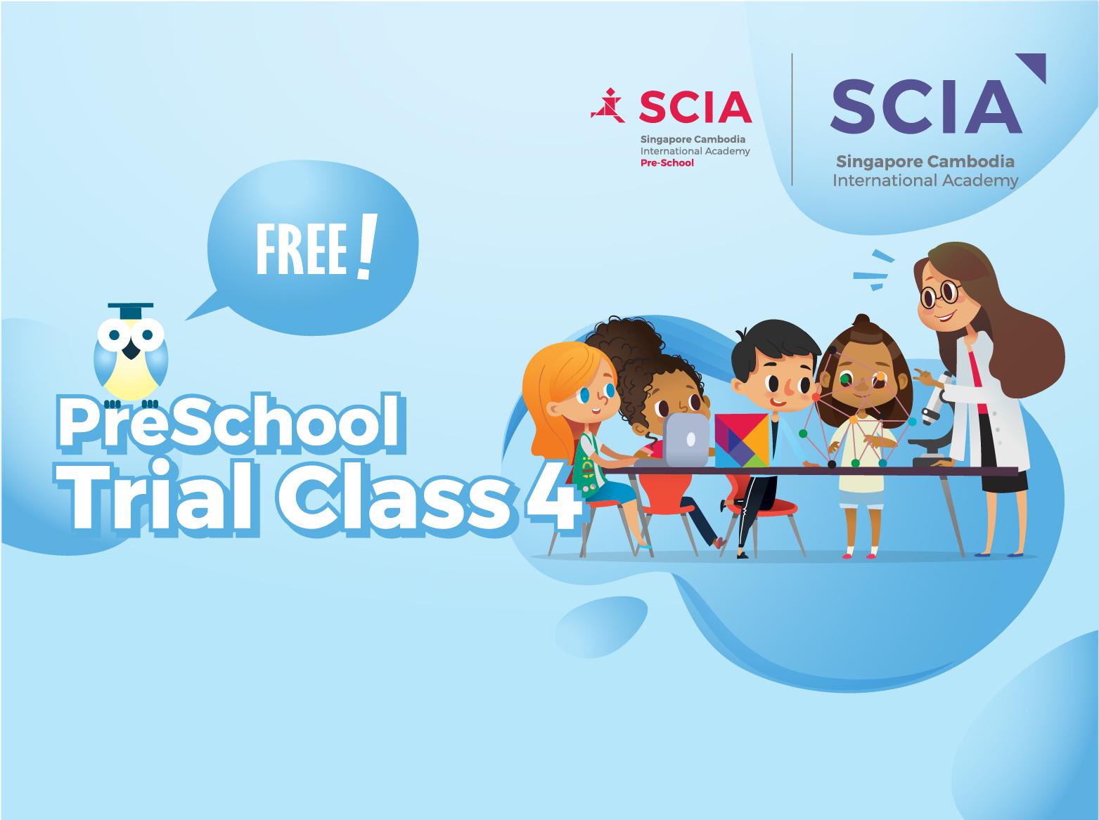 Pre School SCIA Trial Class