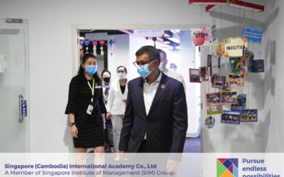 Visit by H.E. Dr Naron and MoEYS Delegates at SCIA