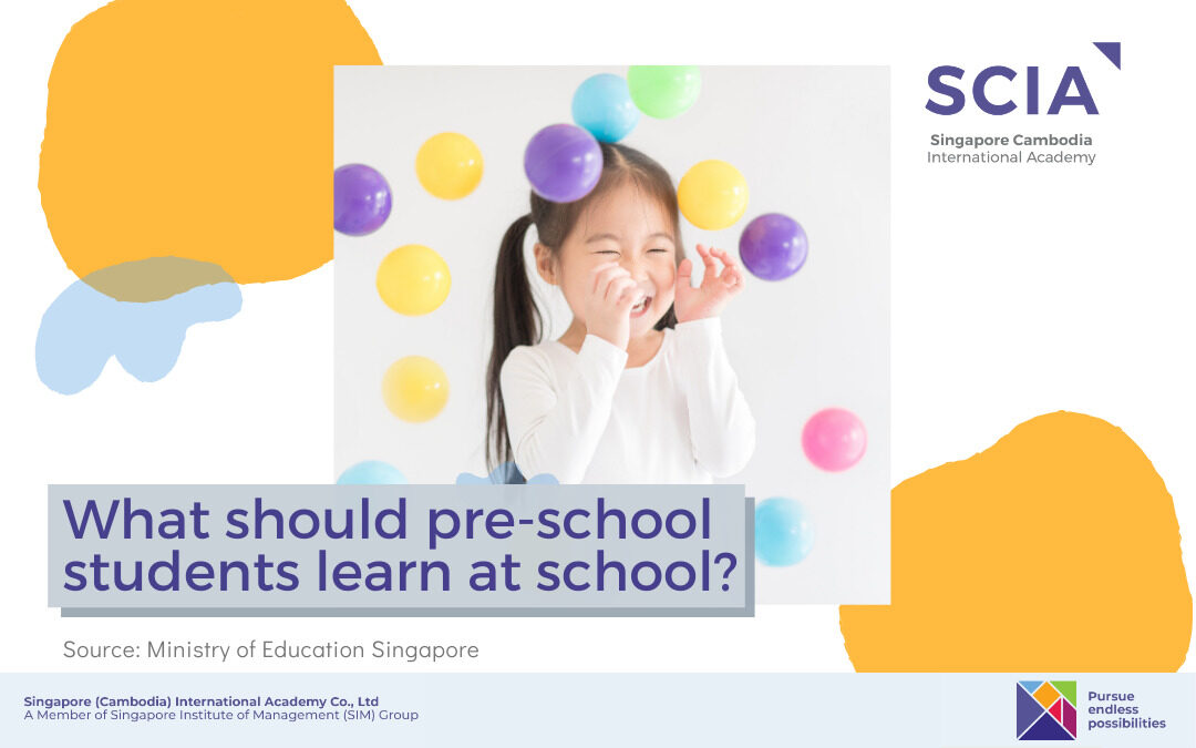 What to Expect from Pre-School's Subjects?