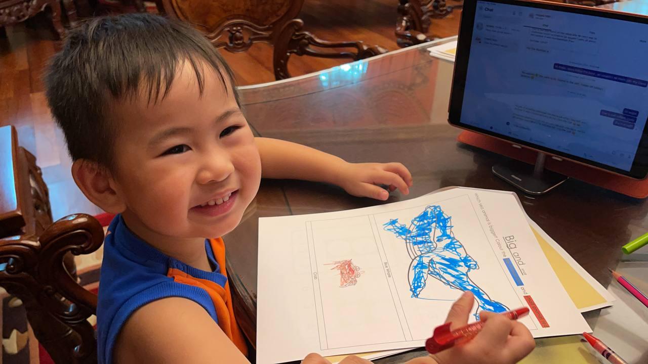 Home-based learning - Heng Ratanak Eng