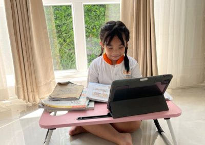 SCIA Student on Home-based Learning