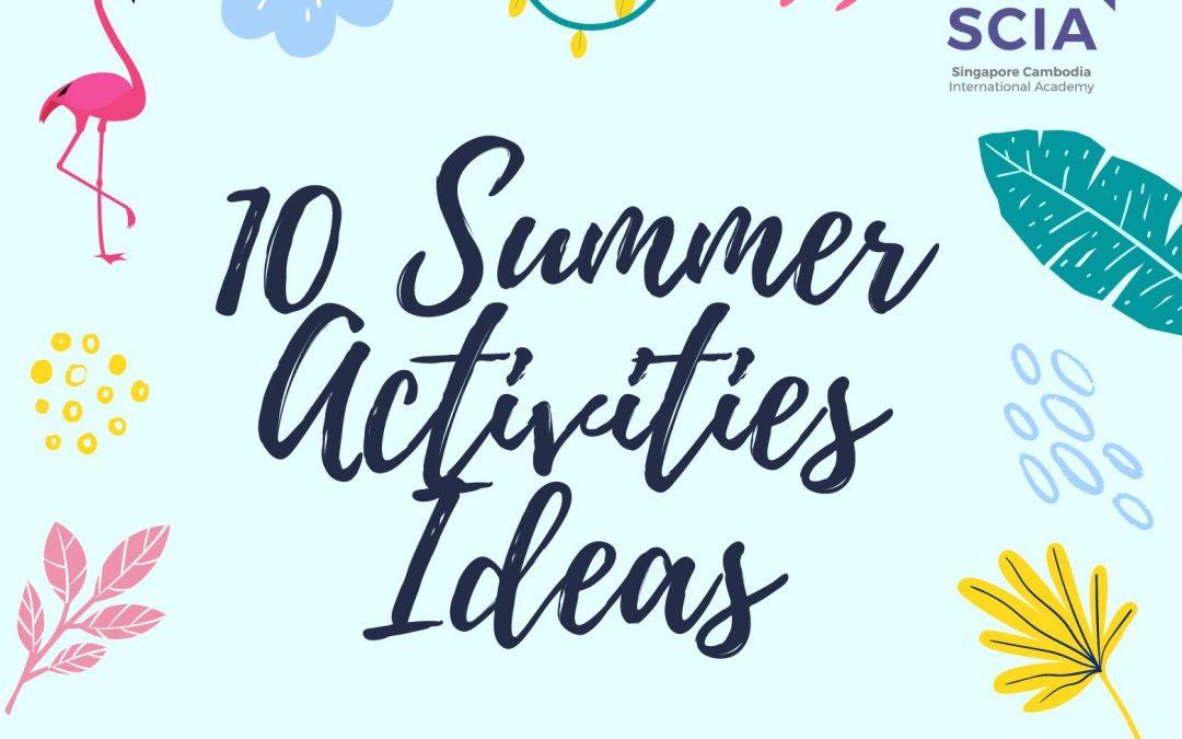 10 Summer Activities Ideas